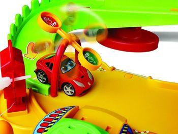 Picture of Bburago Ferrari Semaforo Test Track Πίστα Αυτοκινήτου Με Φανάρι