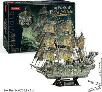 Picture of Cubic Fun 3D Πάζλ Flying Dutchman Led Edition 360 Κομμάτια