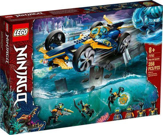 Picture of Lego Ninjago Ninja Sub Speeder (71752)