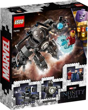 Picture of Lego Super Heroes Iron Man Iron Monger Mayhem (76190)