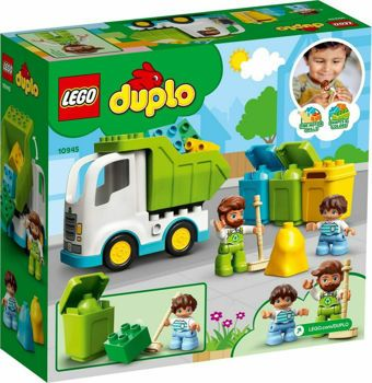 Picture of Lego Duplo Garbage truck and Recycling (10945)