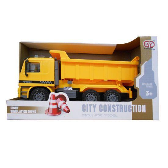 Picture of Zita Toys Φορτηγό Με Ήχους Και Φως (005.899-9B)